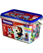 Конструктор Пиксели мини 1000 деталей Тимошка