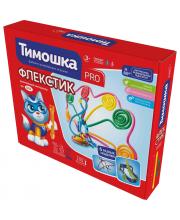 Конструктор Флекстик 100 деталей Тимошка