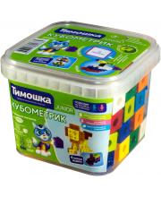 Конструктор Кубометрик 50 деталей Тимошка