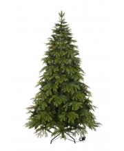Искусственная Ель Власта с вплетенной гирляндой 210 см 8 режимов свечения Crystal Trees