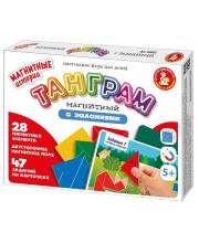 Настольная игра Танграм магнитный Десятое королевство