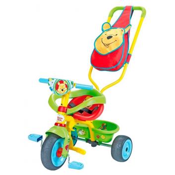 Любимые герои, Велосипед трехколесный Winnie the Pooh Smoby 650246, фото