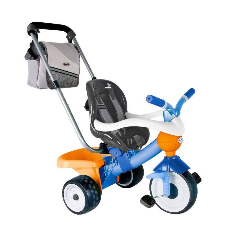 Велосипед трехколесный Comfort Blue-orange Aluminium