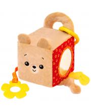 Игрушка кубик мишка Барни Мякиши