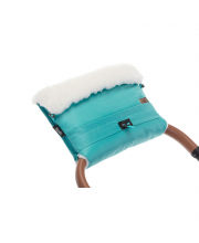 Муфта меховая для коляски Alaska Bianco Nuovita