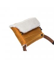 Муфта меховая для коляски Alpino Bianco Nuovita