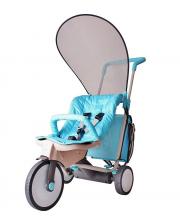 Велосипед-коляска 3 в 1 Evolution blue