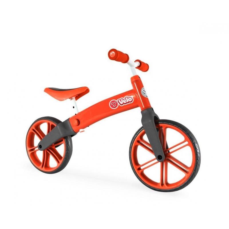 Велобалансир-беговел Y-volution Y-veloВелобалансир-беговел Y-volution Y-veloкрасногоцвета маркиY-Bike.<br>Яркий велобалансир на двух колесах подойдет для детей от 2 лет. Модель оснащена эргономичнымсиденьем и удобным рулем, которые можно регулировать в трех положениях. Облегченнаяалюминиевая конструкциявелобалансира надежная и прочная. С такой моделью ребенок будет отталкиваться и понемногу отрывать ноги от земли, тем самым пробовать держать равновесие. На прогулке малышне заскучает и весело проведет время.<br>Размер изделия: 86х12,5х57 см.<br>Максимальная высота руля: 57 см.<br>Максимальная высота сиденья: 43 см.<br>Размер упаковки: 28х62х19 см.<br>Вес: 3,75кг.<br><br>Цвет: Красный<br>Возраст от: 2 года<br>Пол: Не указан<br>Артикул: 650280<br>Страна производитель: Китай<br>Бренд: Ирландия<br>Размер: от 2 лет