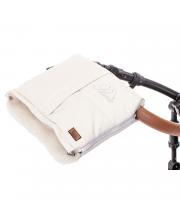 Муфта меховая для коляски Siberia Lux Bianco Nuovita