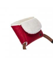 Муфта меховая для коляски Vichingo Bianco Nuovita