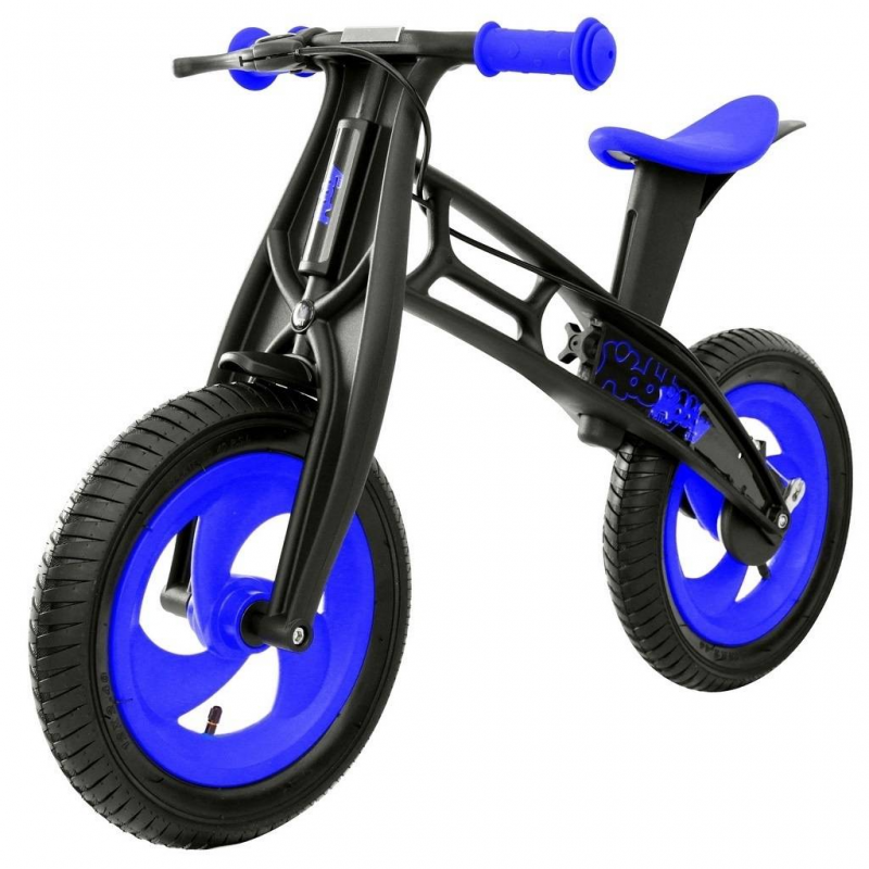 Велобалансир-беговел Hobby-bike RT original Fly B Черная оса Blue