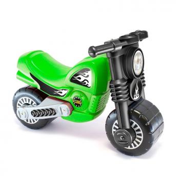 Спорт и отдых, Каталка мотоцикл Моторбайк Wader (зеленый)650283, фото