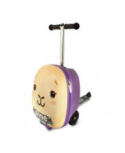 Самокат чемодан Лама Zinc