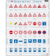 Игрушки, Пазл Дорожные знаки 48 деталей LARSEN , фото 1