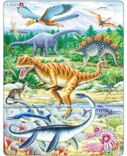 Пазл Динозавры 35 деталей LARSEN