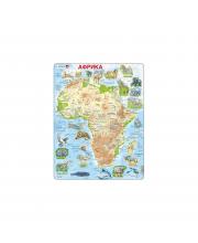 Пазл Животные Африки 63 детали LARSEN