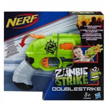 Игрушка Nerf Бластер Зомби Двойная Атака