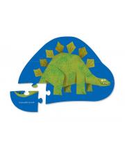Пазл Стегозавр 12 деталей Crocodile Creek