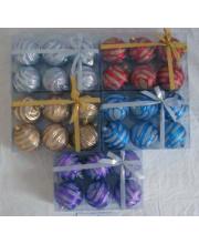 Набор шаров из 6 шт в ассортименте