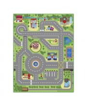 Интерактивная игра коврик Твой город 3D KNOPA
