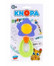 Погремушка Звезда с прорезывателем KNOPA