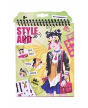Набор для творчества Блокнот Девочка бабочка Style and Smile