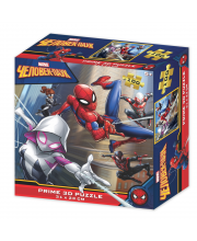 Стерео пазл Человек паук и женщина паук Prime 3D