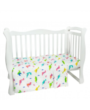 Комплект в кроватку 3 предмета Baby Boom Amarobaby