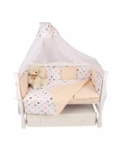 Комплект Premium в кроватку 18 предметов Amarobaby