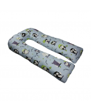 Наволочка к подушке для беременных U-образная Amarobaby