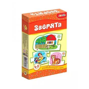 Игрушки, Игра Зверята Дрофа-Медиа 909210, фото