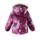 Малыши, Зимняя куртка для девочки LASSIE (малиновый)357244, фото 2