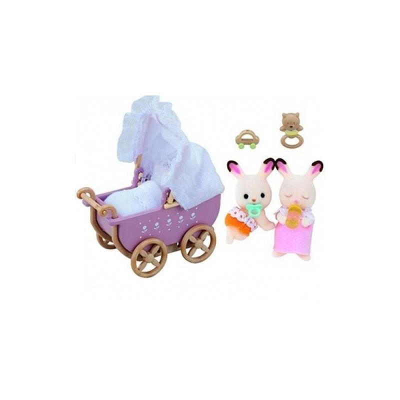 Набор Двойняшки в коляске от Nils