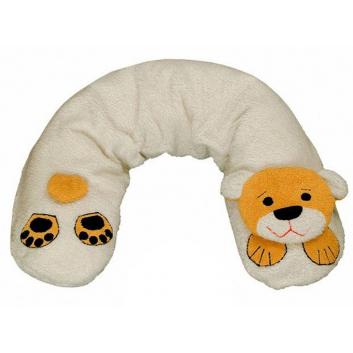 Подушка для кормления Медведь меховой 190 см
