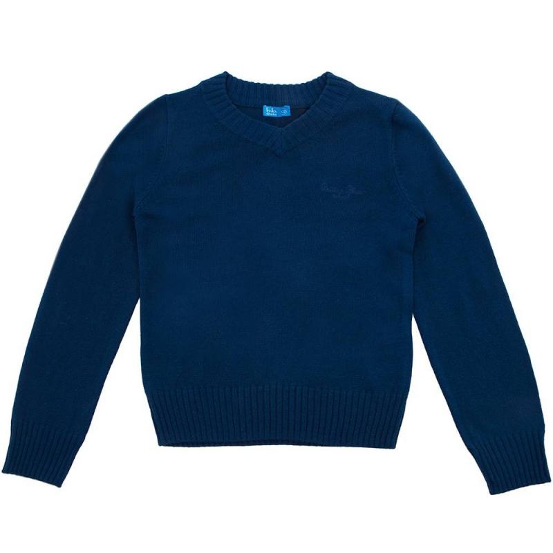 ПуловерПуловер тёмно-синегоцвета марки Button Blue для мальчиков.<br>Трикотажный пуловер с V-образным вырезом украшен вышивкойлоготипа бренда.<br><br>Размер: 10 лет<br>Цвет: Темносиний<br>Рост: 140<br>Пол: Для мальчика<br>Артикул: 636925<br>Бренд: Россия<br>Страна производитель: Китай<br>Сезон: Всесезонный<br>Состав: 15% Шерсть, 20% Нейлон, 65% Акрил