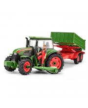 Сборная модель Трактор с прицепом и фигуркой Revell