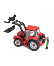 Сборная модель Трактор с погрузчиком и фигуркой Revell