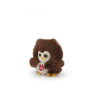 Мягкая игрушка сова-пушистик 10 см Trudi