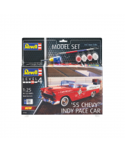 Набор со сборной моделью Revell 67686 Автомобиль Chevy Indy Pace Car 55 Revell