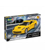Сборная модель Сопртивный автомобиль Corvette Stingray 2014 Revell