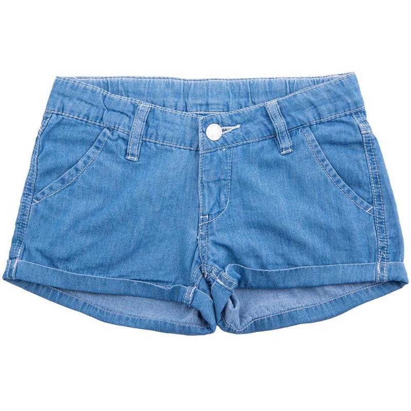 ШортыШортыголубогоцвета маркиButton Blueдлядевочек.<br>Лёгкие шорты с отворотамивыполнены из чистогохлопка, застёгиваются на молнию и пуговицу. Модель дополнена передними и задними карманами, шлёвками для ремня, а такжерегулируемой кулиской на талии.<br><br>Размер: 10 лет<br>Цвет: Голубой<br>Рост: 140<br>Пол: Для девочки<br>Артикул: 636446<br>Страна производитель: Бангладеш<br>Состав: 100% Хлопок<br>Бренд: Россия