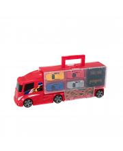 Игровой набор Автоперевозчик с 4 машинками HTI