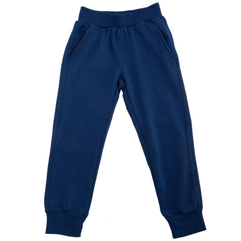 БрюкиБрюки тёмно-синегоцвета марки Button Blue для мальчиков.<br>Спортивные брюки дополнены широкими резинками, а также передними и задними карманами. Пояс регулируется завязками с внутренней стороны.<br><br>Размер: 4 года<br>Цвет: Темносиний<br>Рост: 104<br>Пол: Для мальчика<br>Артикул: 635989<br>Бренд: Россия<br>Страна производитель: Китай<br>Сезон: Весна/Лето<br>Состав: 60% Хлопок, 35% Полиэстер, 5% Эластан