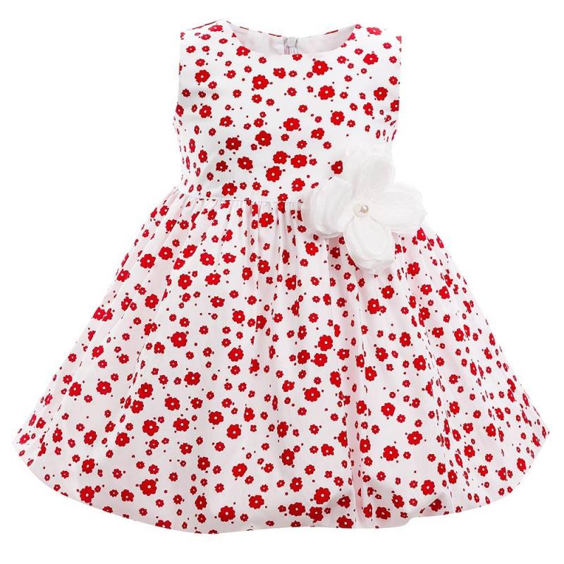 ПлатьеПлатье красного цвета марки Flobaby.<br>Стильное платье выполнено из чистого хлопка и застегивается на потайную молнию. Модель украшена нежным цветочным принтом и выгодно подчеркнута юбкой-тюльпаном. Съемная брошь-цветок завершит модный образ.<br><br>Размер: 2 года<br>Цвет: Красный<br>Рост: 92<br>Пол: Для девочки<br>Артикул: 647375<br>Страна производитель: Россия<br>Сезон: Весна/Лето<br>Состав: 100% Хлопок<br>Бренд: Россия<br>Вид застежки: Молния