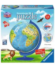 3D Пазл Глобус Детский мир 180 элементов