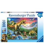 Пазл У динозавров 100 элементов