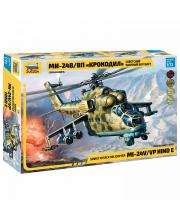 Сборная модель Советский вертолет Ми 24 Крокодил