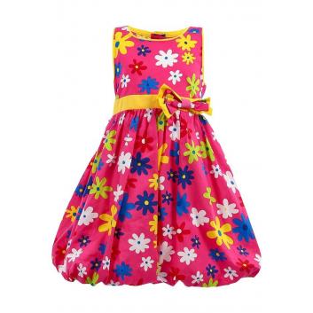 Девочки, Платье LP Collection (малиновый)002033, фото