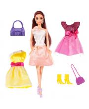 Кукла Ася Стильные цвета Брюнетка ToysLab