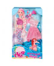 Набор кукла Ася волшебная русалочка ToysLab